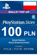 PSN - PlayStation Network - Gift Card 100 (PLN) (Poland)