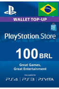 PSN - PlayStation Network - Gift Card 100 (BRL) (Brazil)