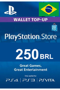 PSN - PlayStation Network - Gift Card 250 (BRL) (Brazil)