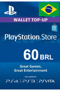 PSN - PlayStation Network - Gift Card 60 (BRL) (Brazil)