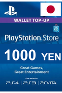 PSN - PlayStation Network - Gift Card 1000 (YEN) (Japan)