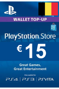PSN - PlayStation Network - Gift Card 15€ (EUR) (Belgium)