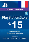 PSN - PlayStation Network - Gift Card 15€ (EUR) (France)