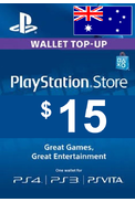 PSN - PlayStation Network - Gift Card 15 (AUD) (Australia)