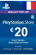PSN - PlayStation Network - Gift Card 20€ (EUR) (France)