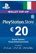 PSN - PlayStation Network - Gift Card 20€ (EUR) (Italy)
