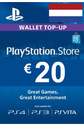 PSN - PlayStation Network - Gift Card 20€ (EUR) (Netherlands)