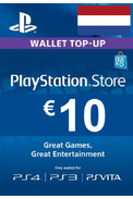 PSN - PlayStation Network - Gift Card 10€ (EUR) (Netherlands)