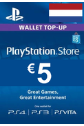 PSN - PlayStation Network - Gift Card 5€ (EUR) (Netherlands)