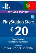 PSN - PlayStation Network - Gift Card 20€ (EUR) (Portugal)