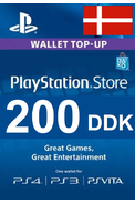 PSN - PlayStation Network - Gift Card 200 (DDK) (Denmark)