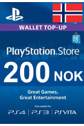 PSN - PlayStation Network - Gift Card 200 (NOK) (Norway)