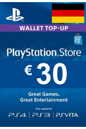 PSN - PlayStation Network - Gift Card 30€ (EUR) (Germany)
