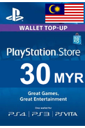 PSN - PlayStation Network - Gift Card 30 (MYR) (Malaysia)