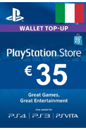 PSN - PlayStation Network - Gift Card 35€ (EUR) (Italy)