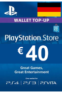 PSN - PlayStation Network - Gift Card 40€ (EUR) (Germany)