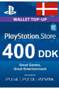PSN - PlayStation Network - Gift Card 400 (DDK) (Denmark)