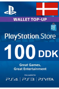PSN - PlayStation Network - Gift Card 100 (DDK) (Denmark)
