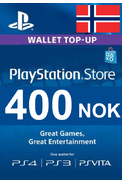 PSN - PlayStation Network - Gift Card 400 (NOK) (Norway)