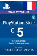 PSN - PlayStation Network - Gift Card 5€ (EUR) (France)