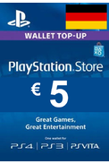 PSN - PlayStation Network - Gift Card 5€ (EUR) (Germany)