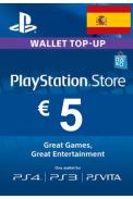 PSN - PlayStation Network - Gift Card 5€ (EUR) (Spain)