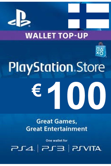 PSN - PlayStation Network - Gift Card 100€ (EUR) (Finland)