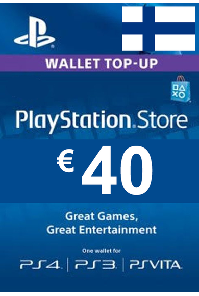 PSN - PlayStation Network - Gift Card 40€ (EUR) (Finland)