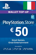 PSN - PlayStation Network - Gift Card 50€ (EUR) (Italy)