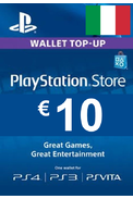 PSN - PlayStation Network - Gift Card 10€ (EUR) (Italy)