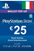 PSN - PlayStation Network - Gift Card 25€ (EUR) (Italy)