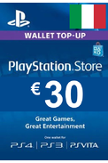 PSN - PlayStation Network - Gift Card 30€ (EUR) (Italy)