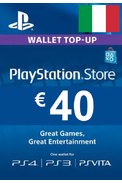 PSN - PlayStation Network - Gift Card 40€ (EUR) (Italy)