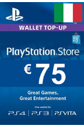 PSN - PlayStation Network - Gift Card 75€ (EUR) (Italy)