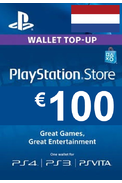 PSN - PlayStation Network - Gift Card 100€ (EUR) (Netherlands)