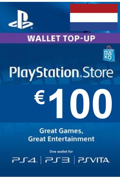 PSN - PlayStation Network - Gift Card 100€ (EUR) (Netherlands)