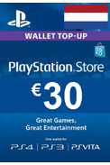 PSN - PlayStation Network - Gift Card 30€ (EUR) (Netherlands)