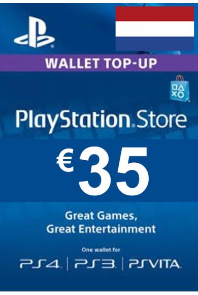 PSN - PlayStation Network - Gift Card 35€ (EUR) (Netherlands)