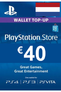PSN - PlayStation Network - Gift Card 40€ (EUR) (Netherlands)