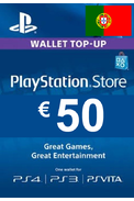 PSN - PlayStation Network - Gift Card 50€ (EUR) (Portugal)
