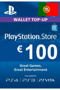 PSN - PlayStation Network - Gift Card 100€ (EUR) (Portugal)