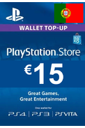 PSN - PlayStation Network - Gift Card 15€ (EUR) (Portugal)