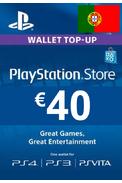 PSN - PlayStation Network - Gift Card 40€ (EUR) (Portugal)