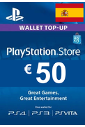 PSN - PlayStation Network - Gift Card 50€ (EUR) (Spain)
