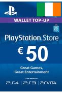 PSN - PlayStation Network - Gift Card 50 (EUR) (Ireland)