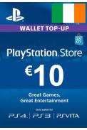 PSN - PlayStation Network - Gift Card 10 (EUR) (Ireland)