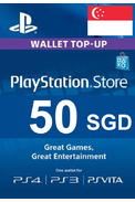 PSN - PlayStation Network - Gift Card 50 (SGD) (Singapore)