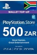 PSN - PlayStation Network - Gift Card 500 (ZAR) (South Africa)