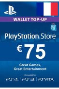 PSN - PlayStation Network - Gift Card 75€ (EUR) (France)