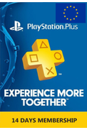 PSN - PlayStation Plus - 14 days (EUROPE) Subscription